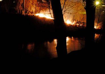 Uwaga na pożary traw i nieużytków rolnych!