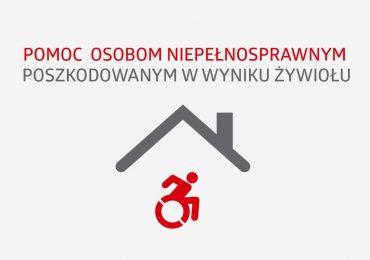 """PEFRON i """"Pomoc osobom niepełnosprawnym poszkodowanym w wyniku żywiołu"""""""