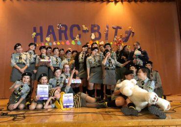 II miejsce, nagroda publiczności i wyróżnienie w IV Festiwalu Piosenki Harc-Bit
