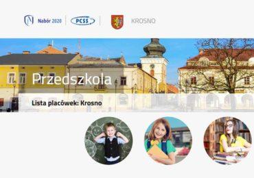 Rekrutacja do krośnieńskich przedszkoli - 2020/2021