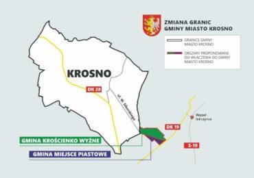 Trwają konsultacje społeczne dotyczące zmiany granic Krosna