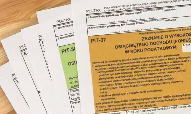 PIT. Nowe ulgi podatkowe w 2020 r.