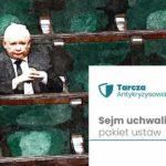 Tarcza antykryzysowa uchwalona przez Sejm