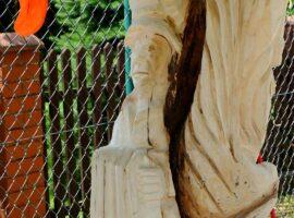 Rzeźby już prawie gotowe – dzień 4.