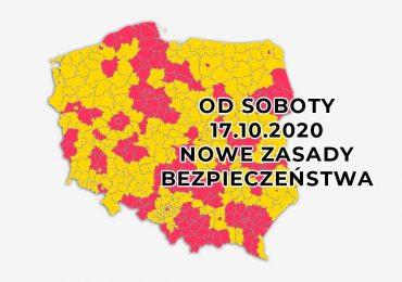 Pół Polski w strefie czerwonej - kolejne ograniczenia