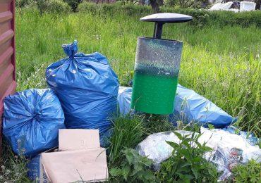 Wezwanie do złapania zaśmiecacza