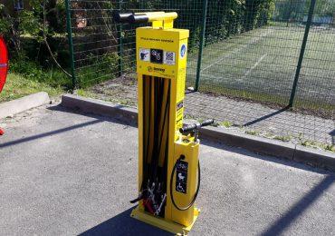 Stacja Naprawy Rowerów - TRZYmaj poziom bezpieczeństwa