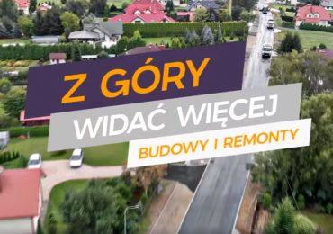 Inwestycje w Krośnie widziane z lotu ptaka